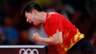 'Greatest of all time' Ma survives Ovtcharov in seven-game men's singles semifinal