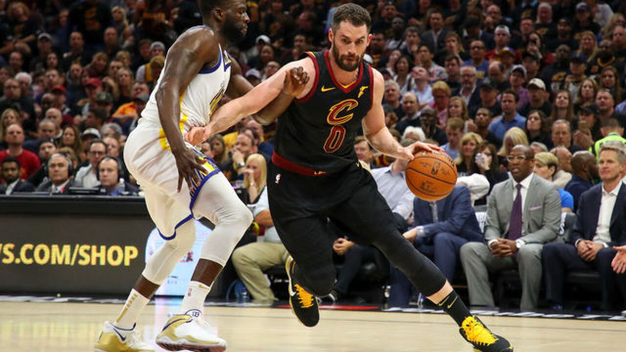 'I enjoy playing here': Kevin Love signs 4-year contract, $120M extension with the Cavs