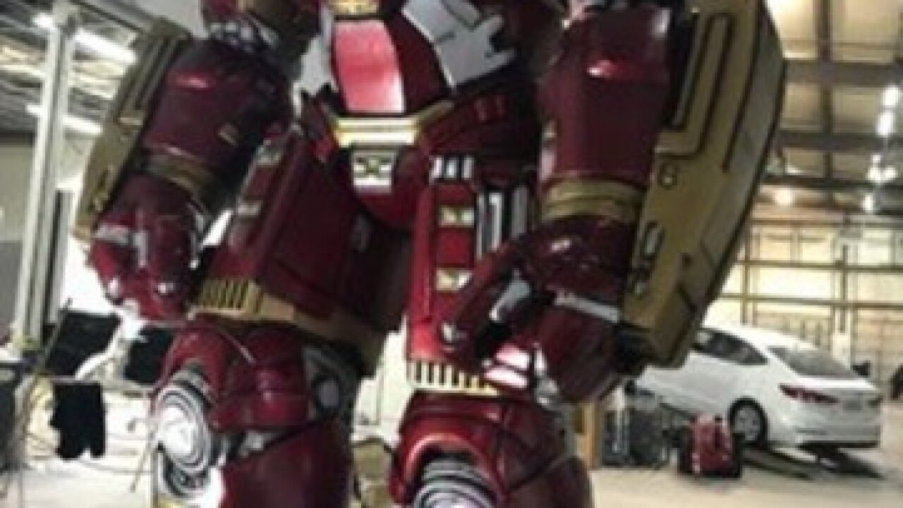 12-foot Iron Man statue to be unveiled at Expo