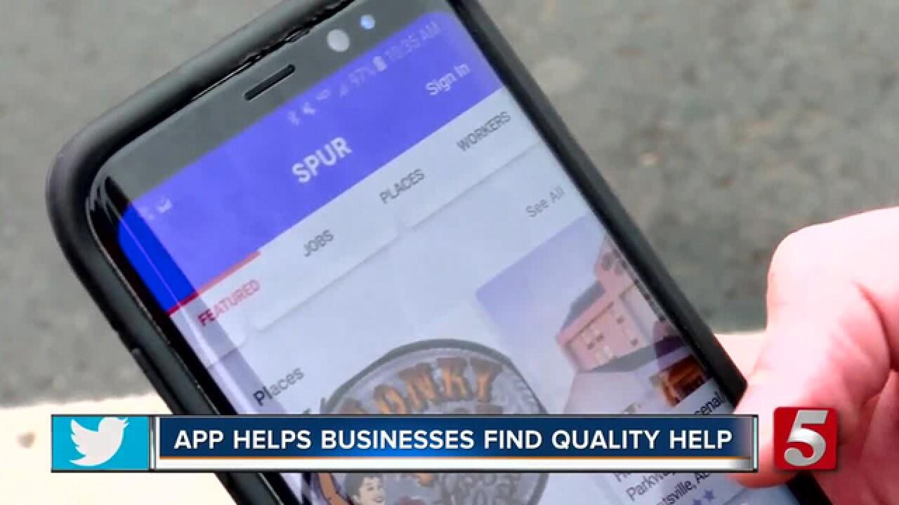 Spur App Helps Speed-Up Hiring Process