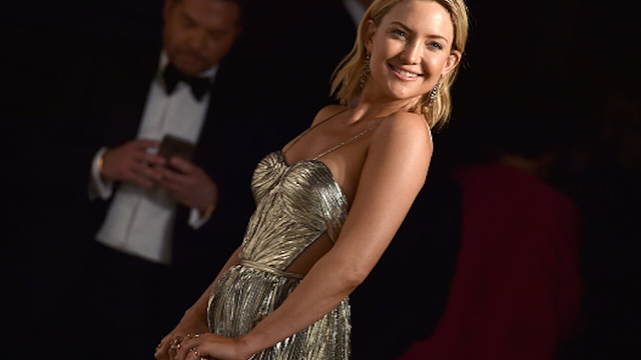 Kate Hudson reveals she's pregnant in Instagram video