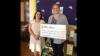 This week's One Class At A Time grant recipient is Katie Finnicum of the Ursuline Center.
