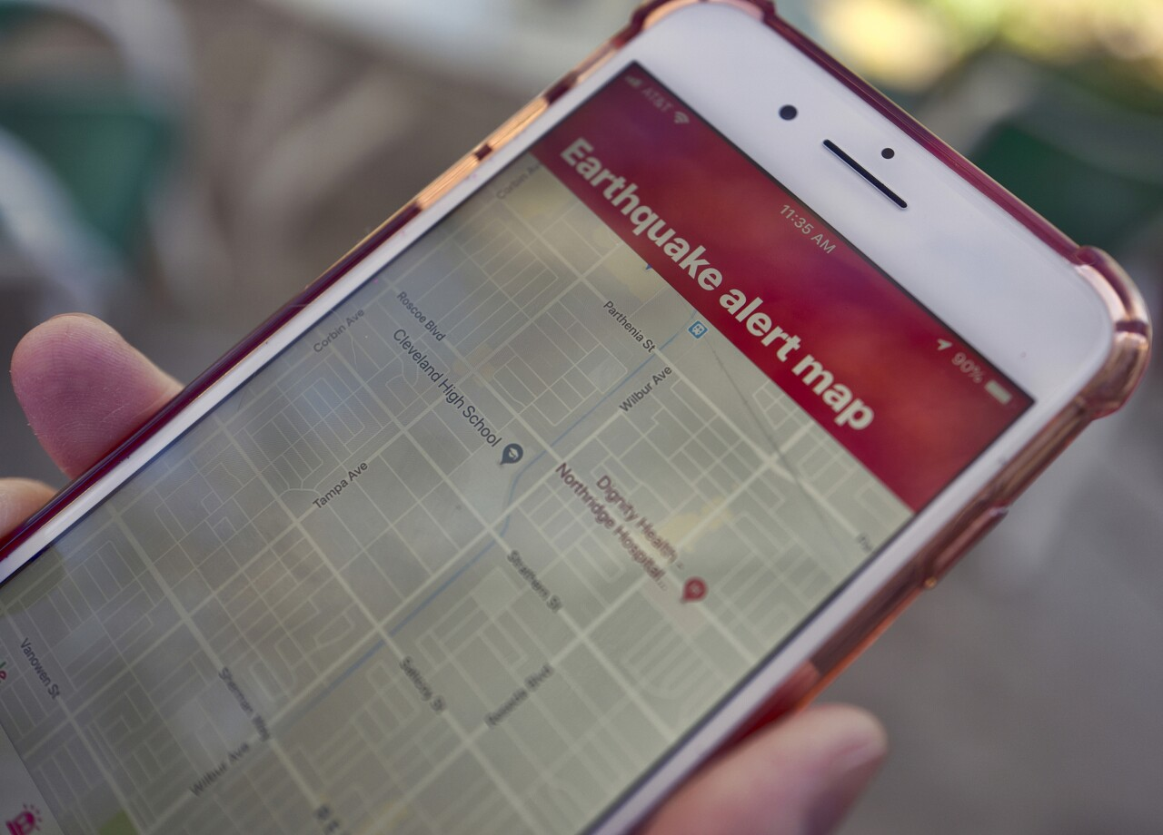 Earthquake Alerts Android Phones