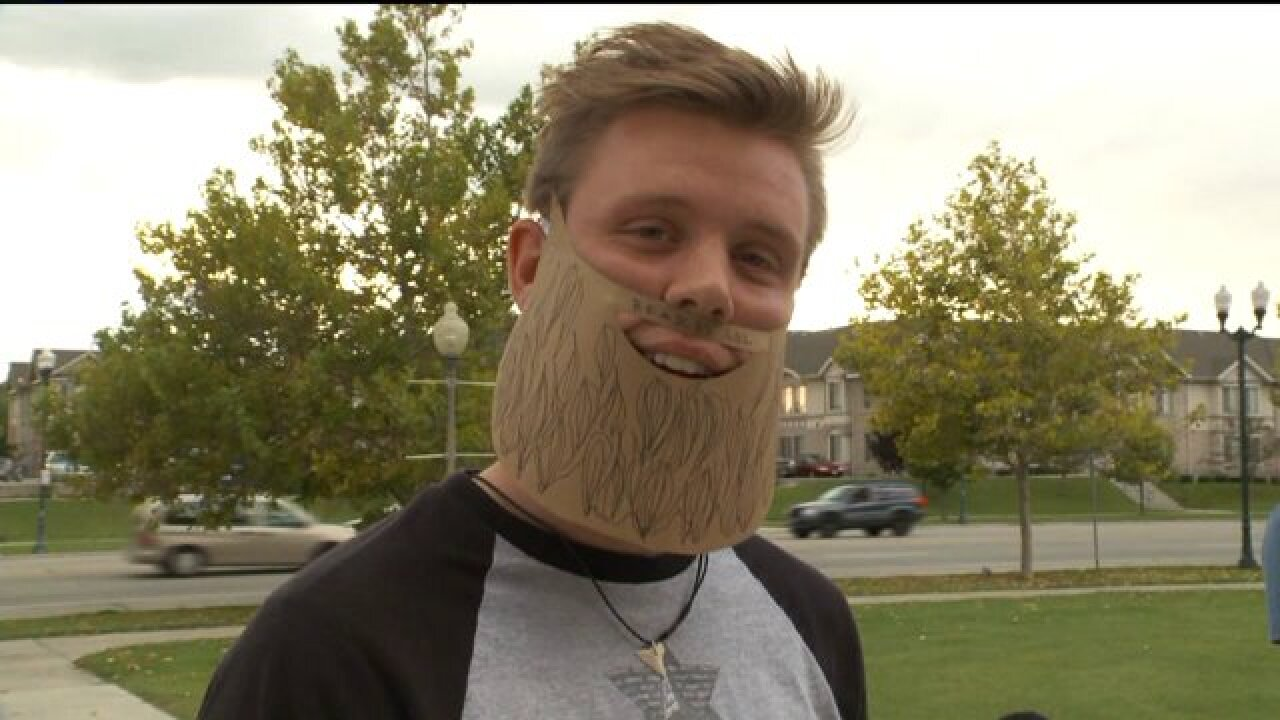 'Bike for Beards' event part of BYU students' fight for facial hair freedom
