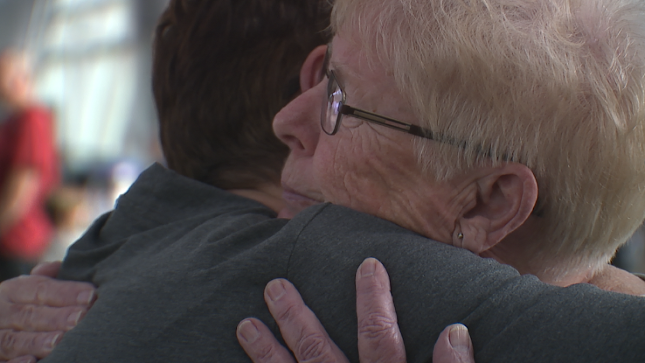 A chance DNA test reunited a daughter with her biological mother after 52 years apart
