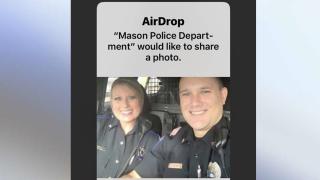 Mason AirDrop Scam