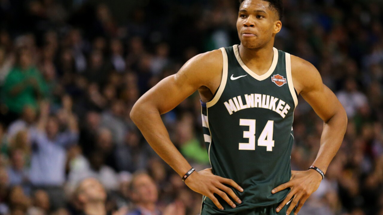 Bucks' Antetokounmpo out for Bulls game with ankle sprain