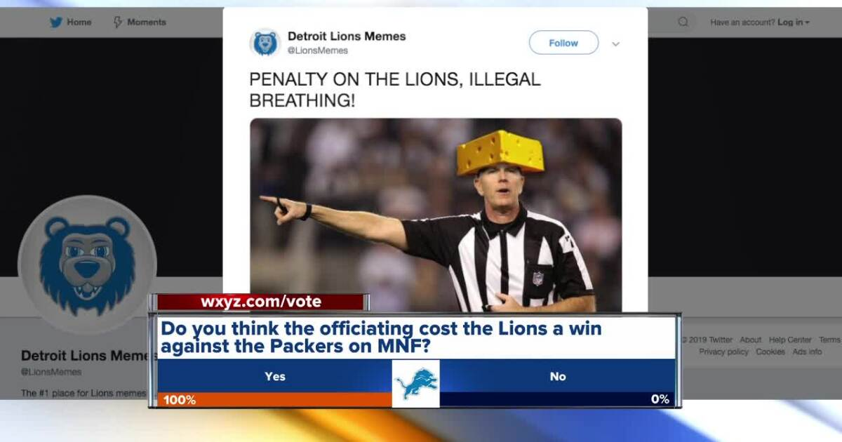 Lions DE Trey Flowers, fans react to controversial calls following loss against Packers