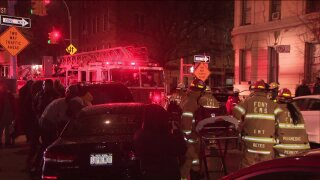 5 injured, one critically, in Harlem apartment fire