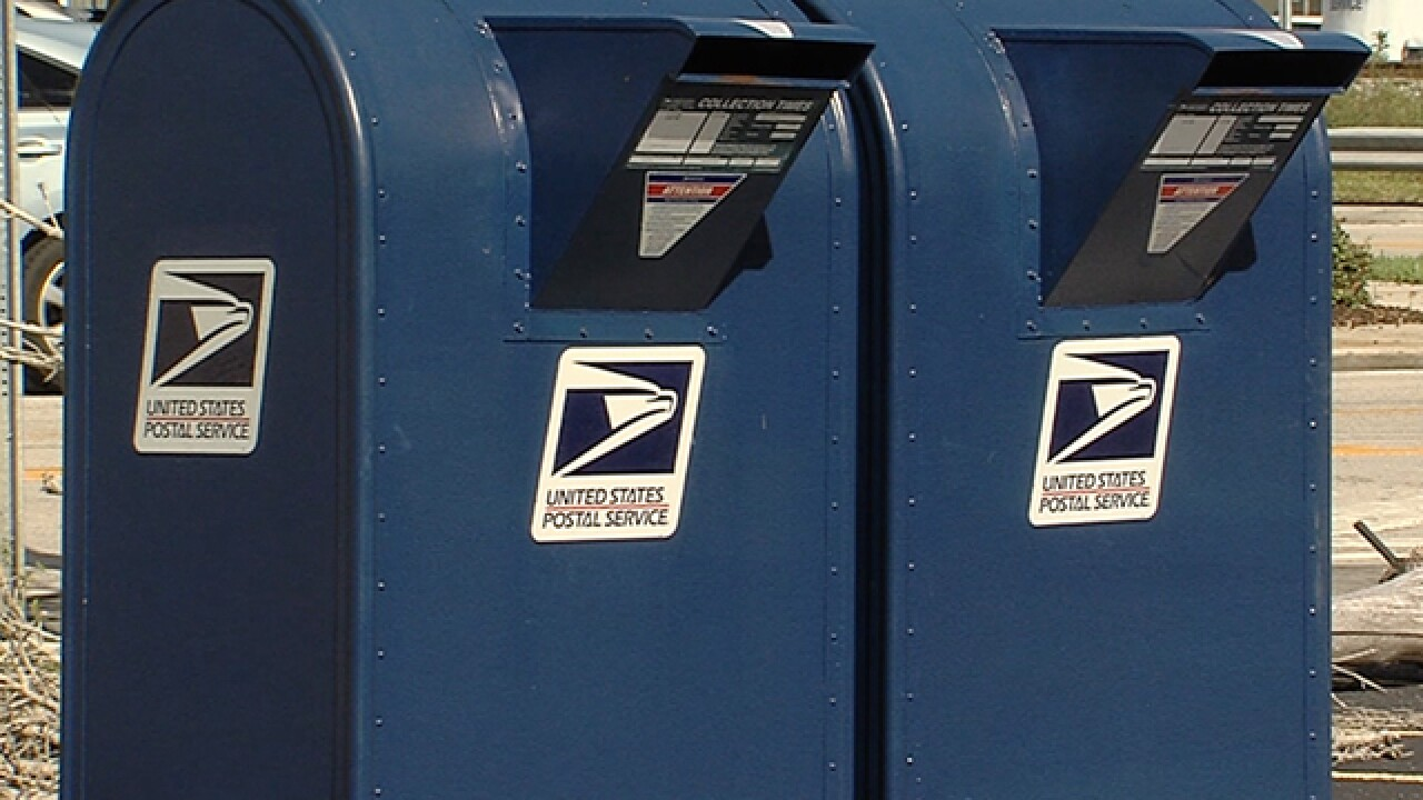 Thieves using sticky substance to steal checks from mailboxes, then washing the checks