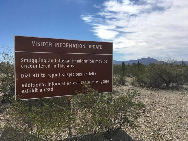 GALLERY: Border security at the Organ Pipe Cactus National Monument