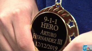 911 Hero Arturo Hernandez