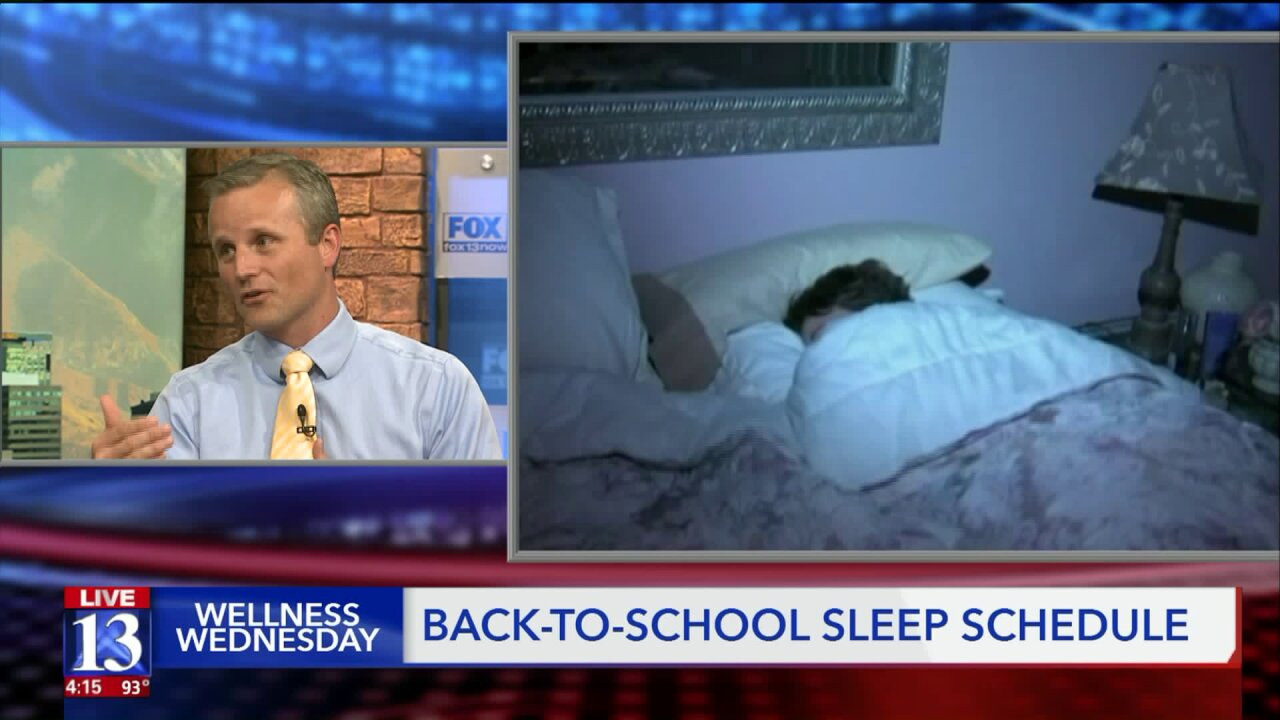 Wellness Wednesday: Back to school means back to sleep for kids