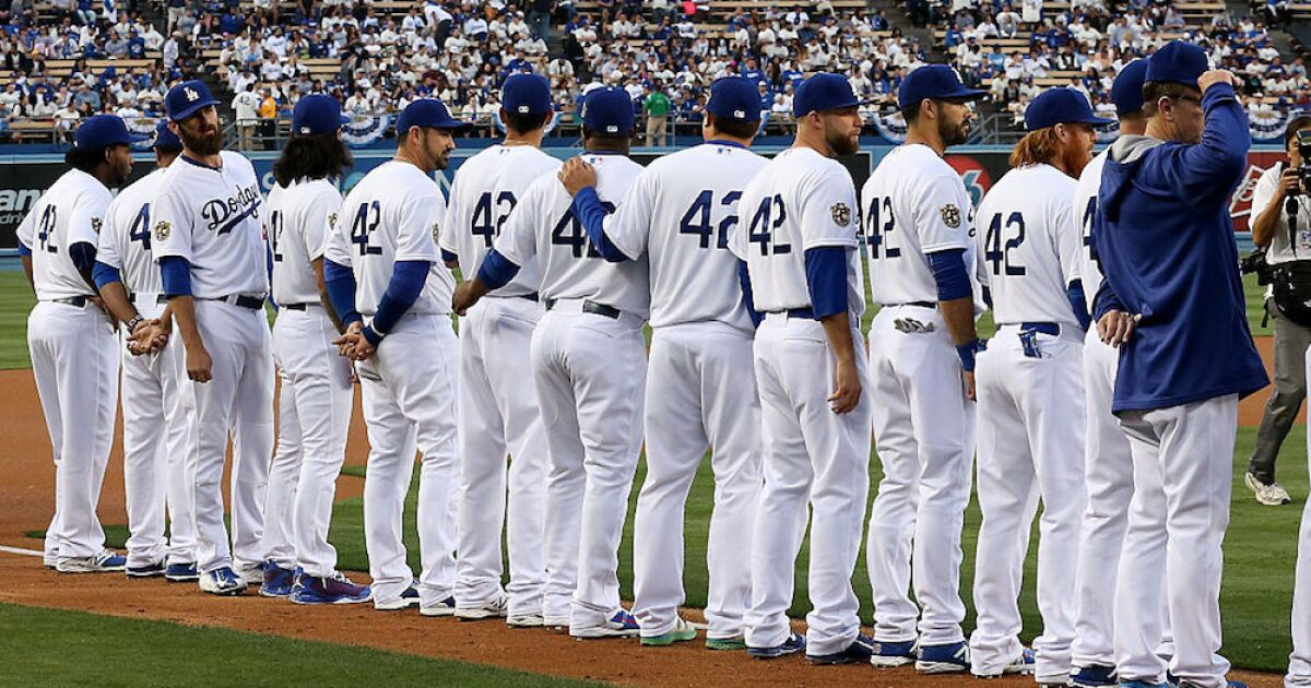 Why every MLB player is wearing No. 42 on Monday
