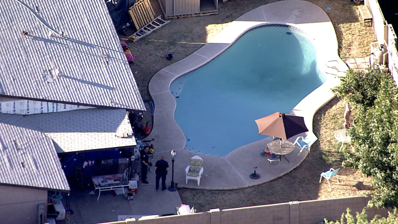 Drowning call 63rd Ave and Osborn