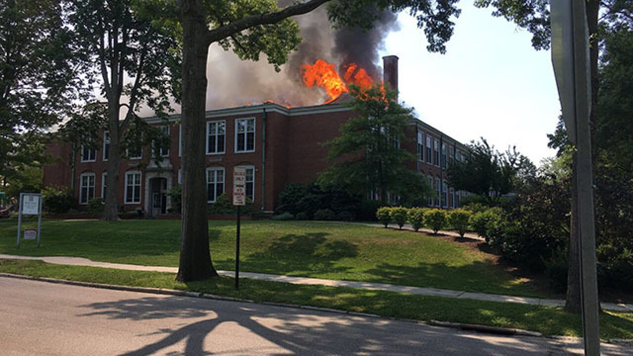 LIVE: Crews respond to fire in Shaker Heights