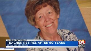 Making A Difference: Teacher Retires After 60 Years