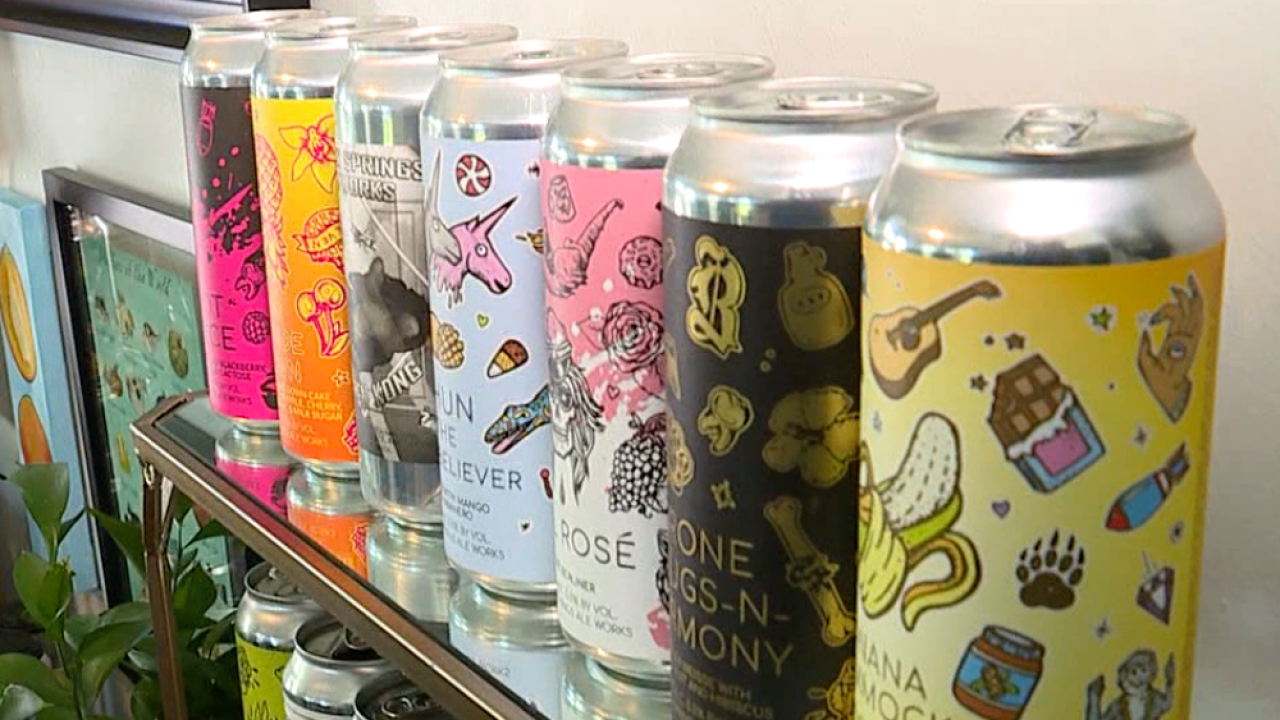 beer can designs Arielle Chorman