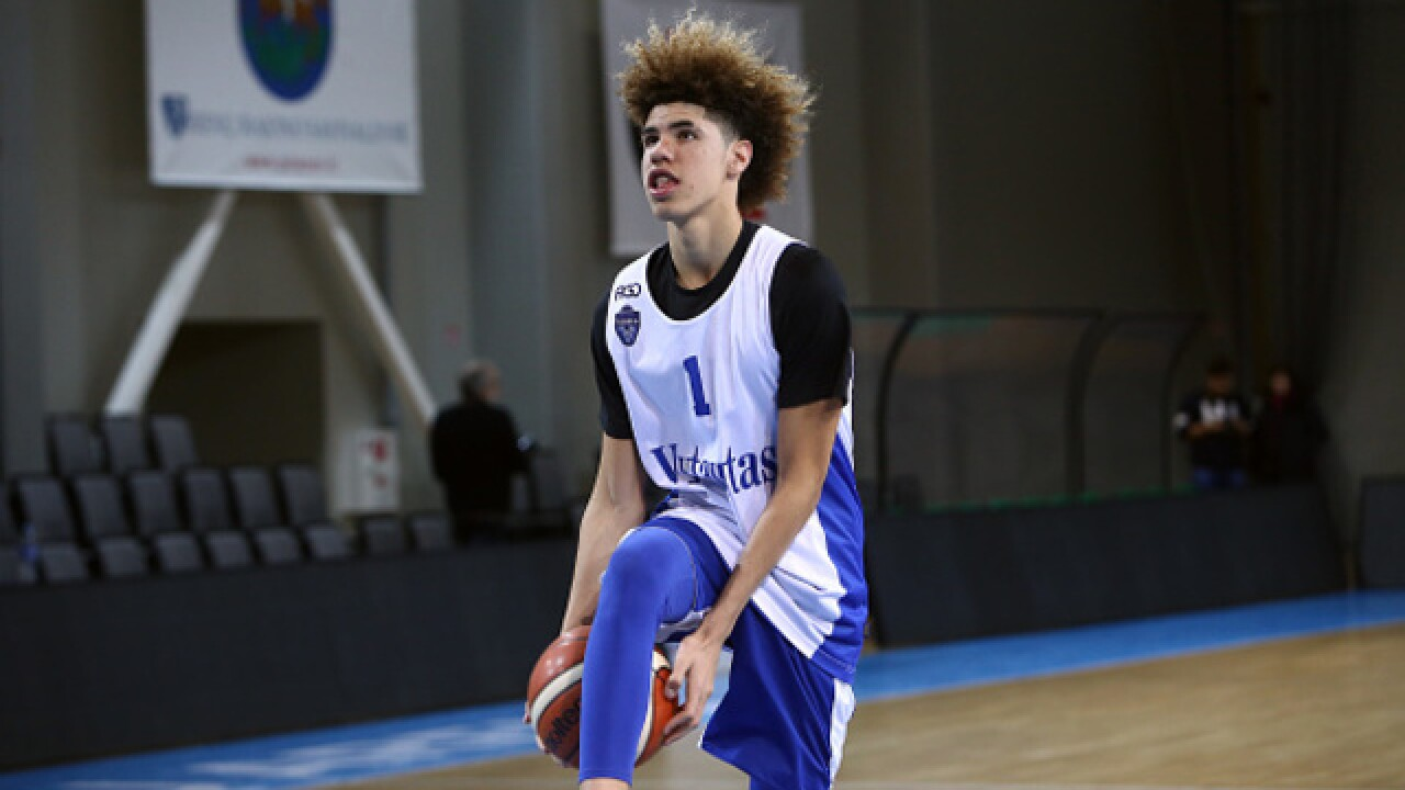 LaMelo Ball gets big welcome to Cleveland