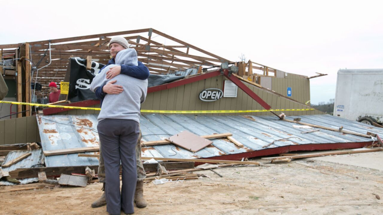 Alabama turns its attention to recovery efforts and funerals for the 23 tornado victims