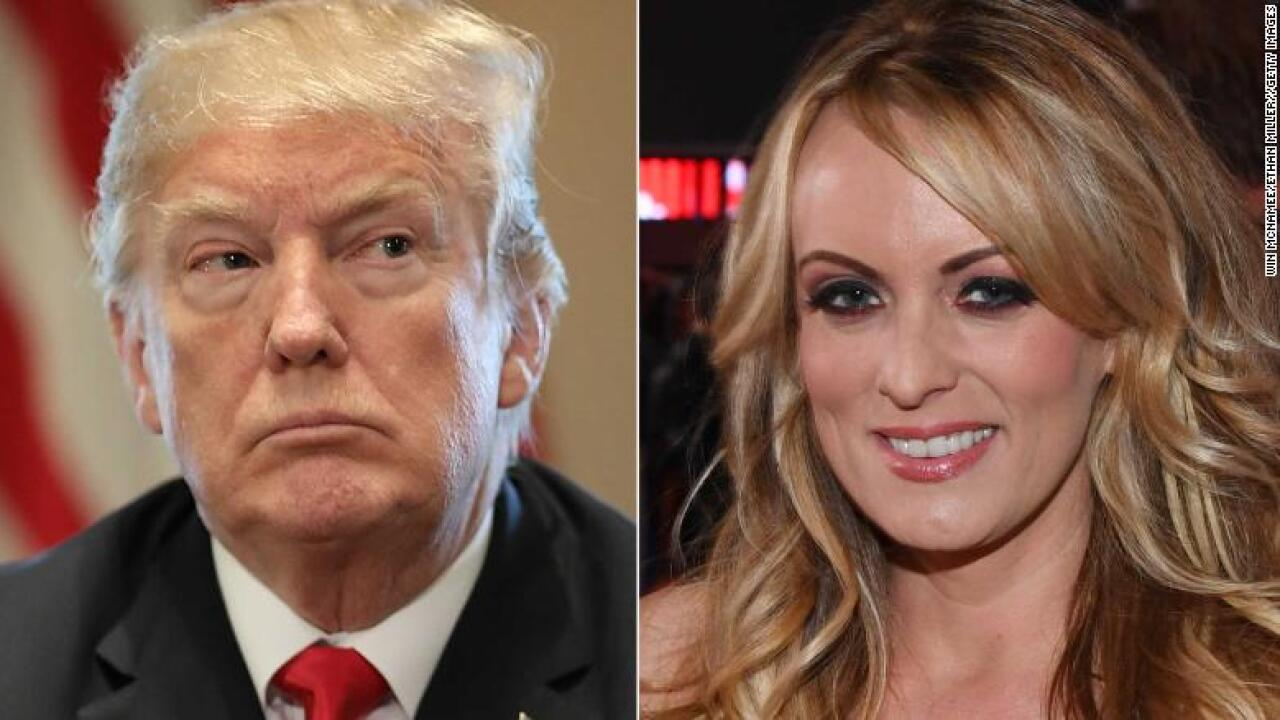 Evidence of affair with Trump is on DVD, porn star's lawyer says