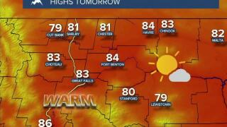 Mostly Sunny, Mostly Dry, and Very Warm This Week
