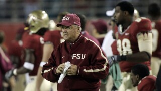 Florida State Seminoles head coach Bobby Bowden on sideline at 2005 ACC Championship game
