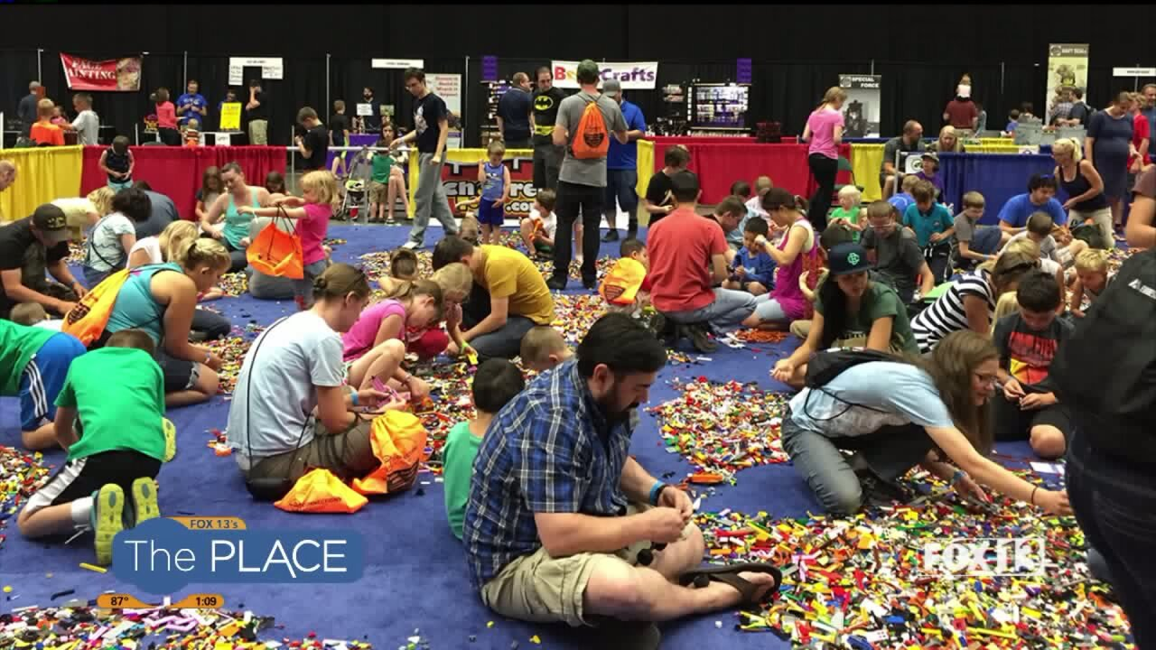 Take part in a Lego fan event!
