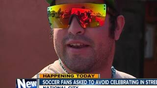 Police ask World Cup fans to celebrate responsibly