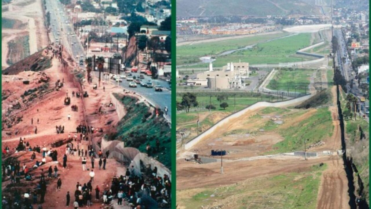 Photos show U.S.-Mexico border in the 80s
