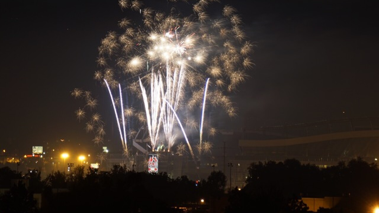 PHOTOS: Fireworks erupt across Colorado
