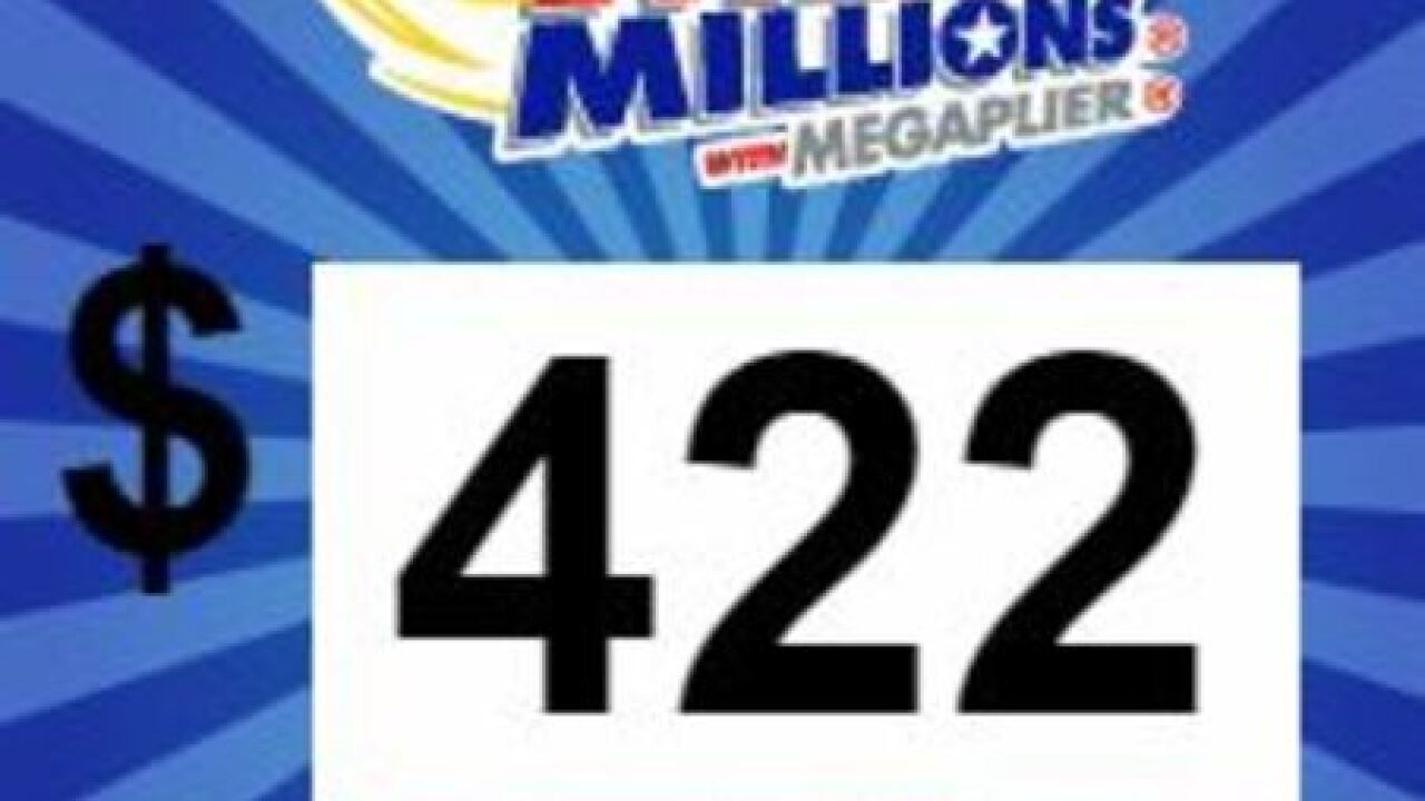 Mega Millions Jackpot Now Up To 422 Million After No Winner Drawn Tuesday