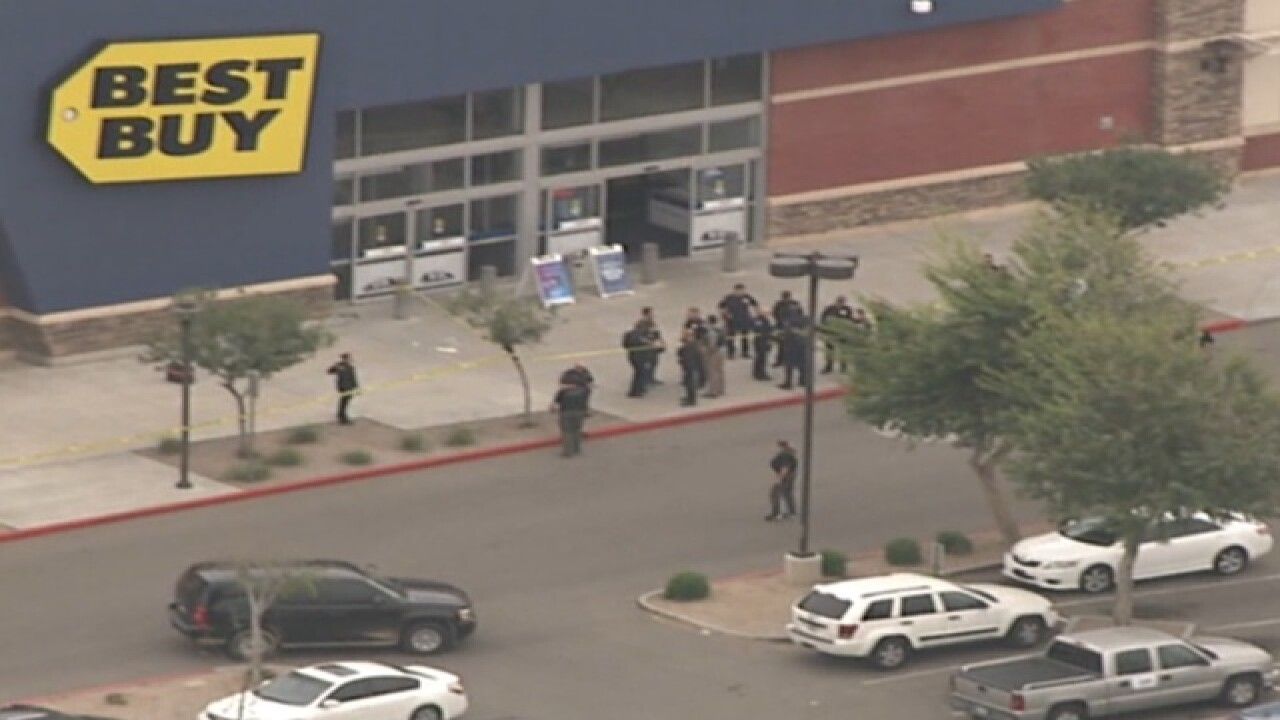 PD: Shooting at Avondale shopping center
