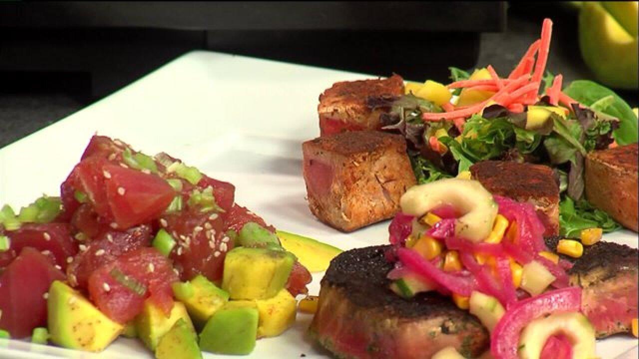 Make fresh tuna the catch of the day with three tastyrecipes
