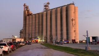 Grain bin ax 1