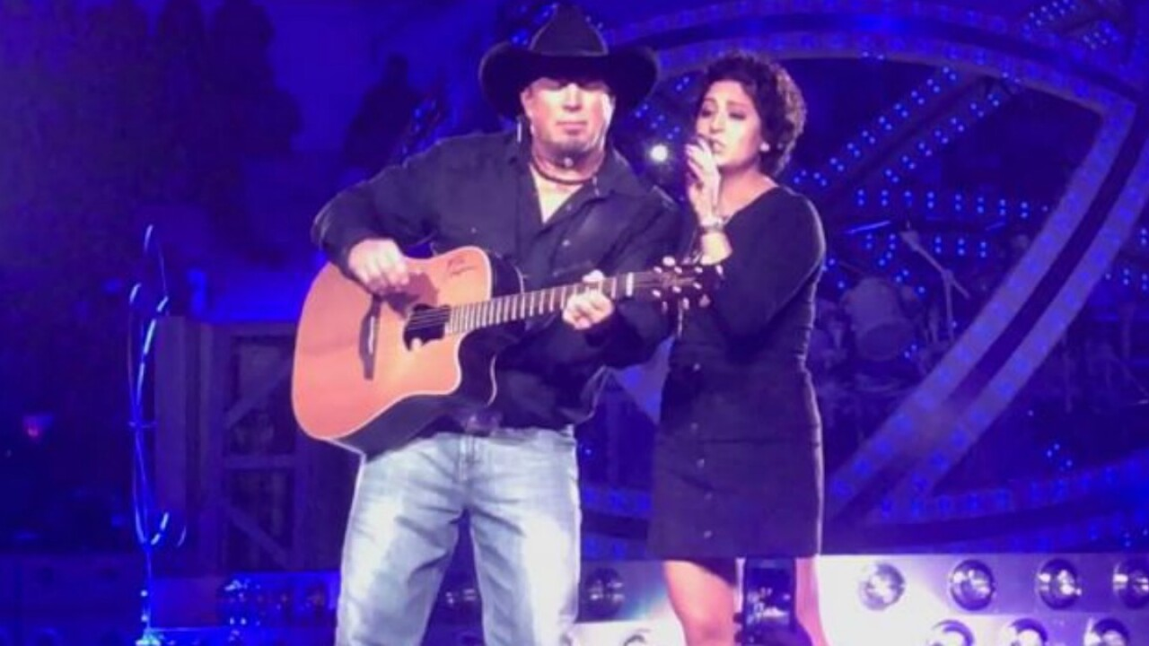 Garth Brooks makes dream come true for cancer survivor