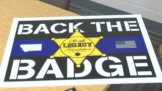 """""""Back The Badge"""" items are now available at the Cascade County Sheriff's office"""