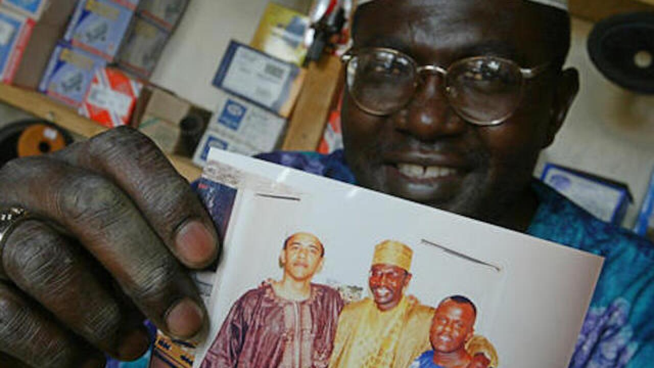 Obama's Kenyan half-brother says he supports Donald Trump