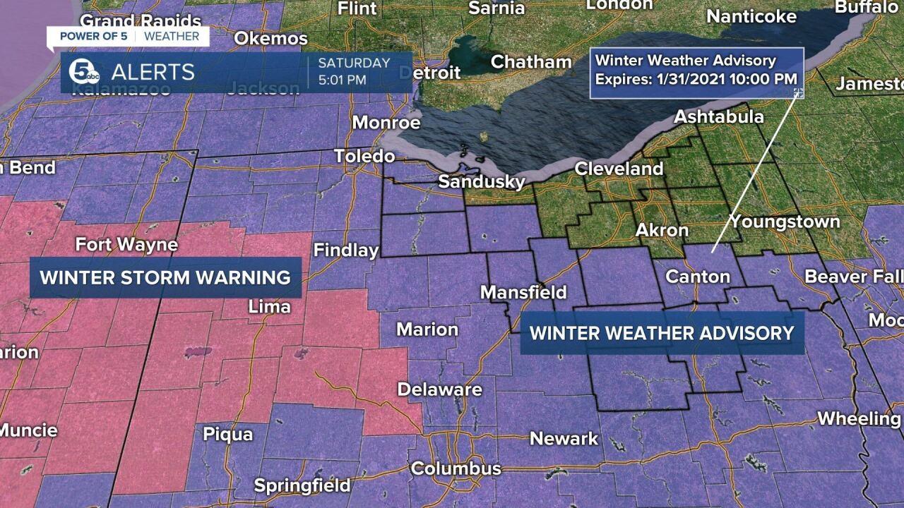 1/30/21 winter weather advisory