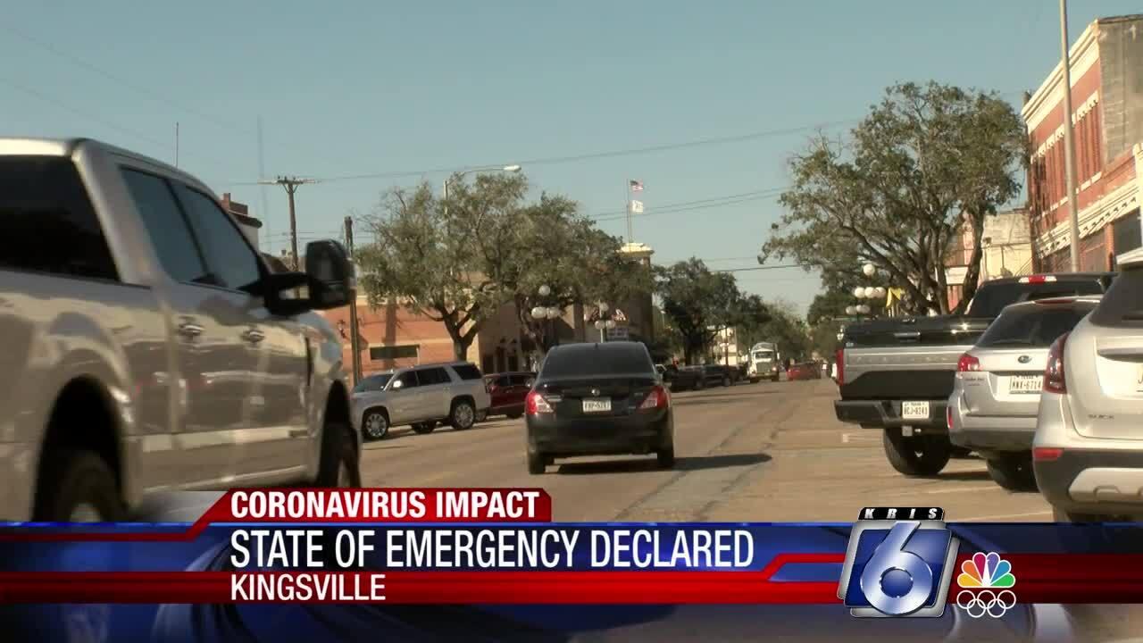City of Kingsville declares state of emegency