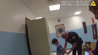 Family of 8-year-old boy handcuffed by police in video will file federal lawsuit