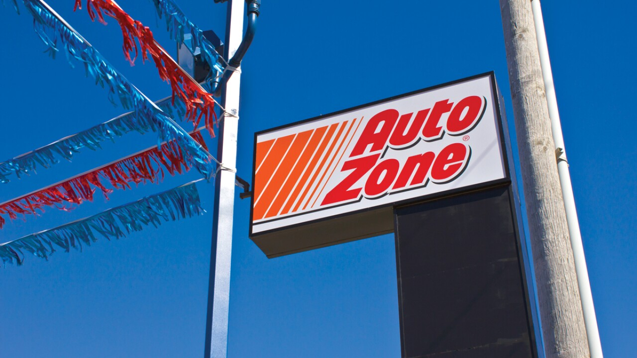 Indianapolis - March 2016: AutoZone Retail Store II