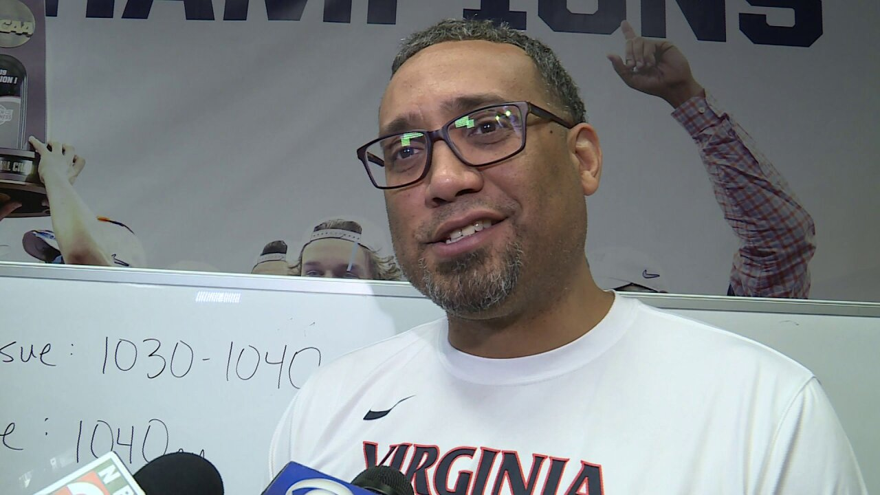 How Virginia coach Jason Williford and the Cavaliers are keeping cool before the FinalFour