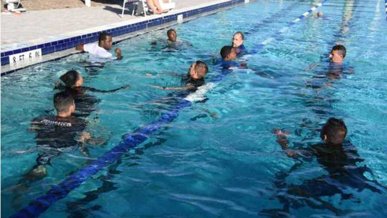 FMPD conducts water safety training for officers