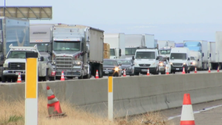Traffic on Interstate 5, Grapevine