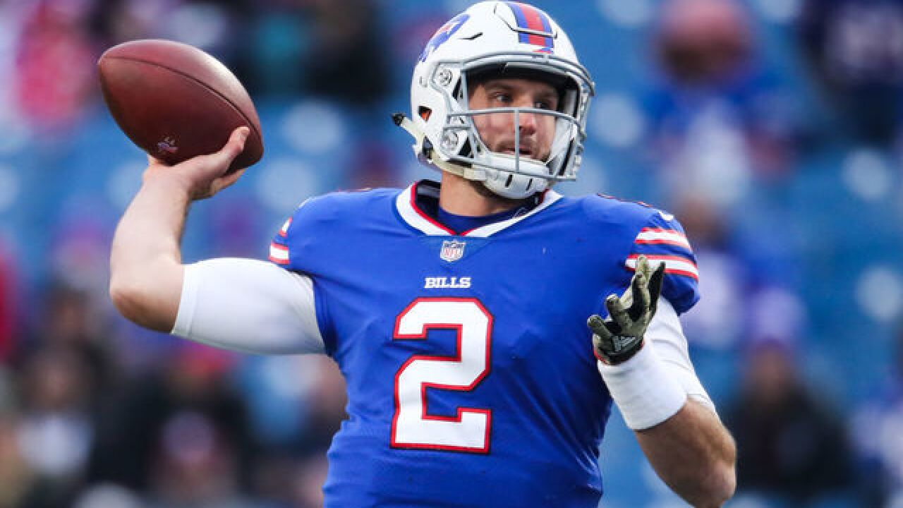 Nathan Peterman named starter against Baltimore Ravens
