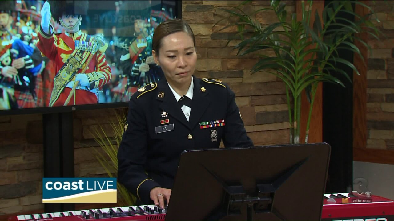 A touching performance and preview of the Virginia International Tattoo on CoastLive