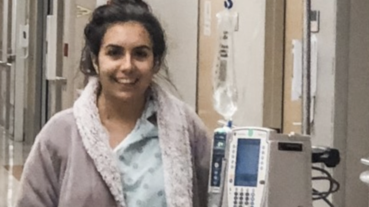 Meghan Smith underwent an organ transplant and says being able to connect with people her own age through TransplantLyfe, who have gone through the same experience, has been a relief.