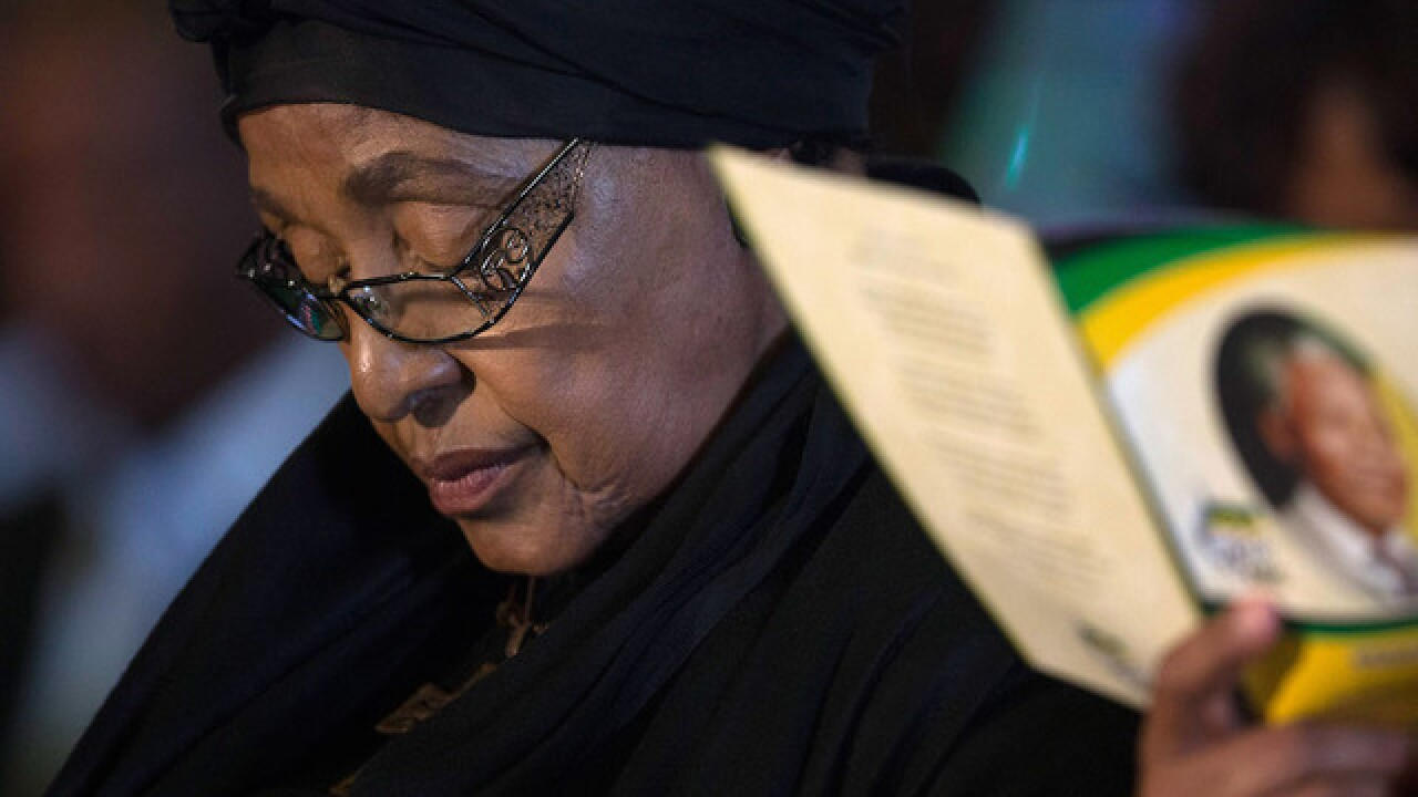 Anti-apartheid activist Winnie Mandela dies