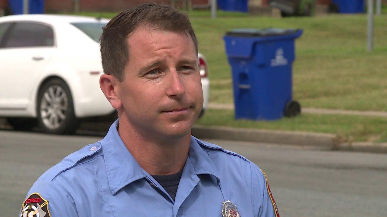 Richmond Firefighter Sean Riley